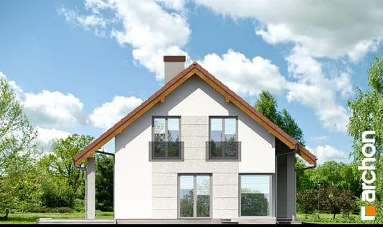 Elewacja boczna projekt dom w wisteriach 2 ver 2  266