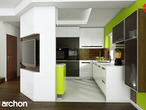 projekt Dom w wisteriach 2 Aranżacja kuchni 2 widok 4