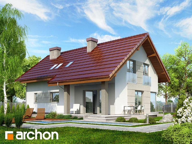 Widok 2 projekt dom w wisteriach 2 ver 2  290