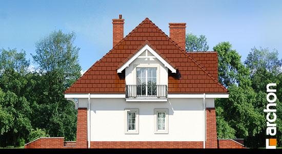 Elewacja boczna projekt dom w koniczynce 3  266