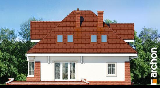 Elewacja ogrodowa projekt dom w koniczynce 3  267