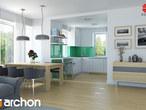 projekt Dom w koniczynce 3 Aranżacja kuchni 1 widok 1