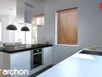 projekt Dom w koniczynce 3 Aranżacja kuchni 2 widok 3
