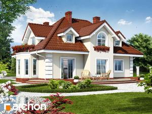 projekt Dom w wiciokrzewie widok 2