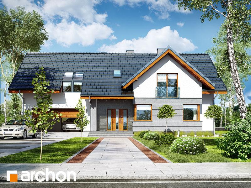 gotowy projekt Dom w skrzydłokwiatach 2 (G2) widok 1