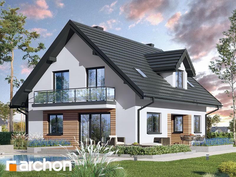 gotowy projekt Dom pod pistacją (G) widok 2