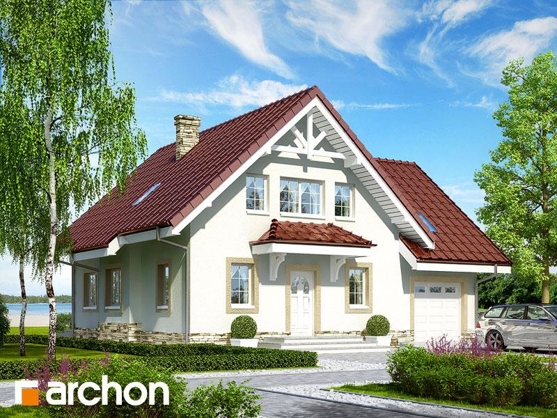 gotowy projekt Dom pod katalpą widok 1