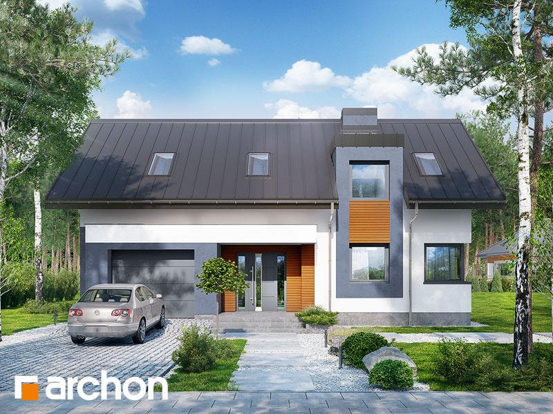 gotowy projekt Dom w elstarach widok 1