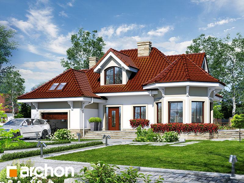 gotowy projekt Dom pod juką 3 widok 1