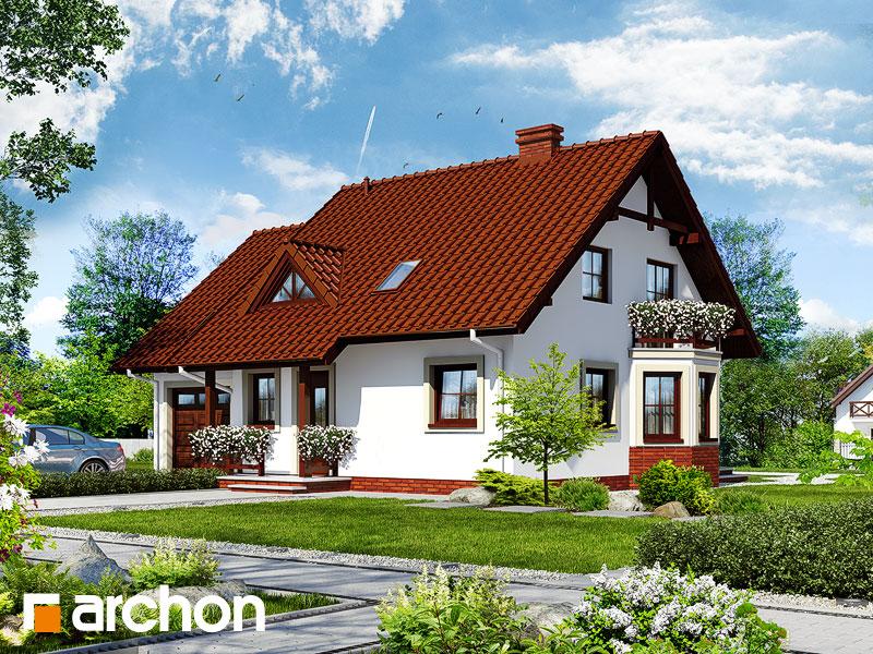 gotowy projekt Dom pod bukami 4 (G) widok 1