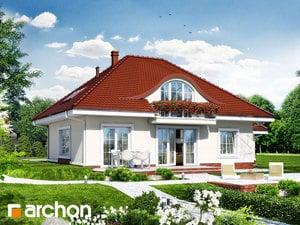 projekt Dom w arbuzach widok 2