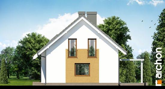 Elewacja boczna projekt dom w limetkach ver 2  265