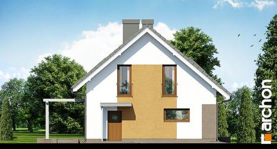 Elewacja boczna projekt dom w limetkach ver 2  266