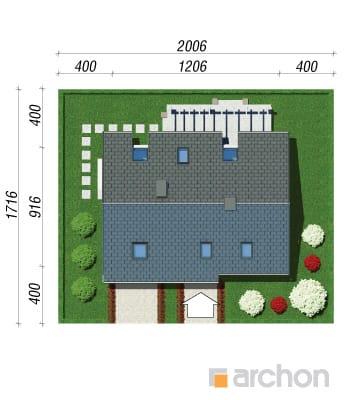 projekt Dom w limetkach sytuacja