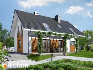 projekt Dom w limetkach widok 2