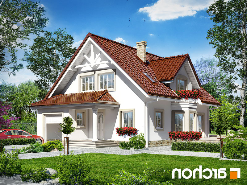 Lustrzane odbicie 1 projekt dom w swietliku  289lo