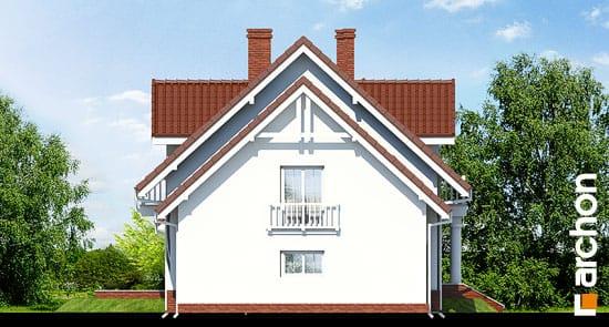 Elewacja boczna projekt dom w kaliach 2 ver 2  266