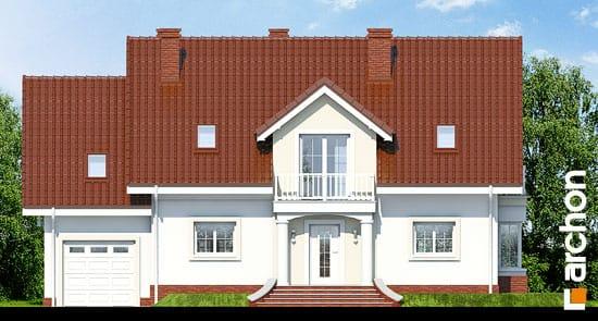 Elewacja frontowa projekt dom w kaliach 2 ver 2  264