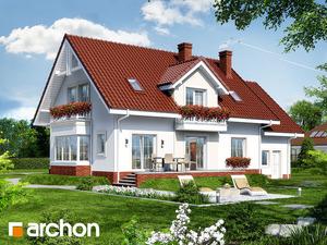 projekt Dom w kaliach 2 widok 2