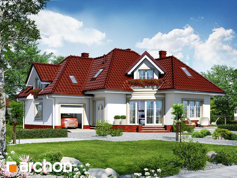 gotowy projekt Dom w trzmielinie widok 1