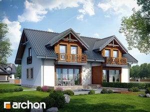 projekt Dom w klematisach 5 widok 2
