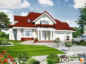 projekt Dom w wiciokrzewie (G2) lustrzane odbicie 1