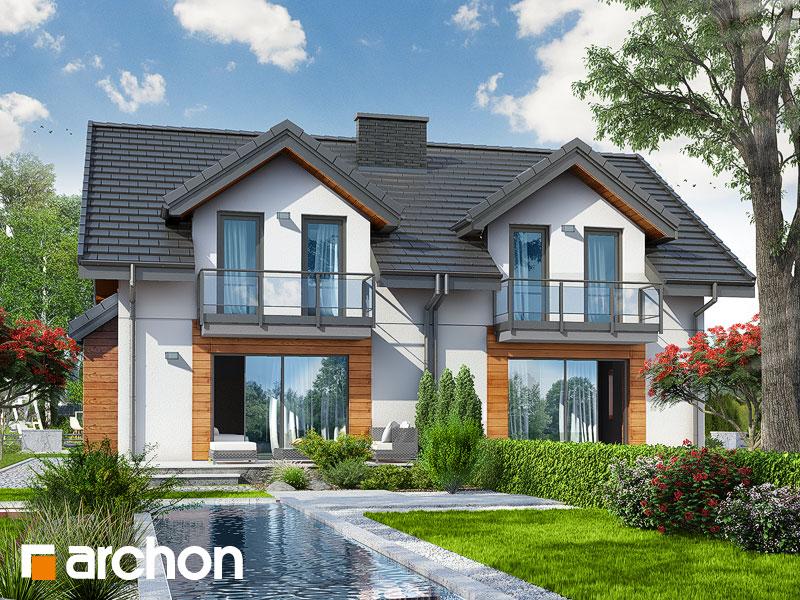 gotowy projekt Dom w klementynkach (R2) widok 1