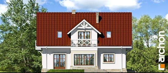 Elewacja boczna projekt dom w oregano  266