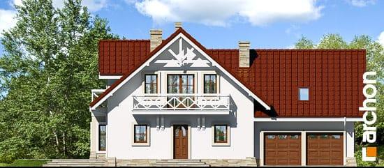 Elewacja frontowa projekt dom w oregano  264