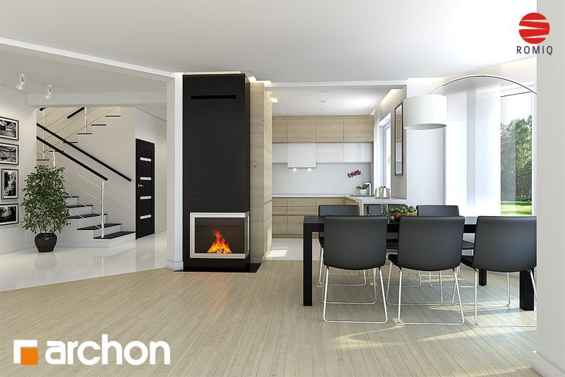 aranżacje kuchni do projekt243w dom243w archon