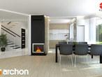 projekt Dom w awokado (G) Aranżacja kuchni 1 widok 1