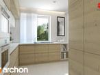 projekt Dom w awokado (G) Aranżacja kuchni 1 widok 3
