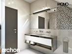 projekt Dom w awokado (G) Wizualizacja łazienki (wizualizacja 3 widok 4)