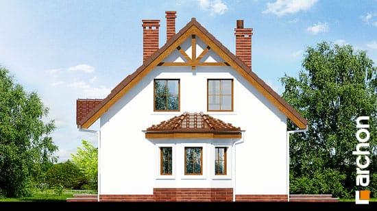 Elewacja boczna projekt dom w poziomkach 3 g  265