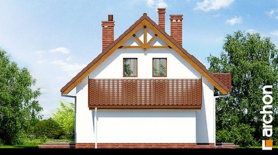 Elewacja boczna projekt dom w poziomkach 3 g  266