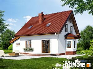 projekt Dom w poziomkach 3 (G) lustrzane odbicie 2