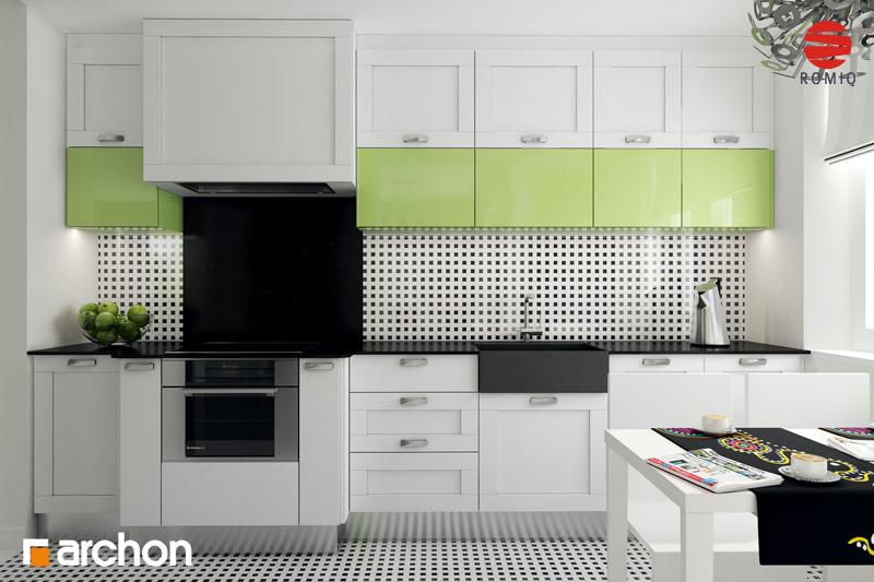 Aranżacje kuchni do projektów domów - ARCHON+ - strona 15