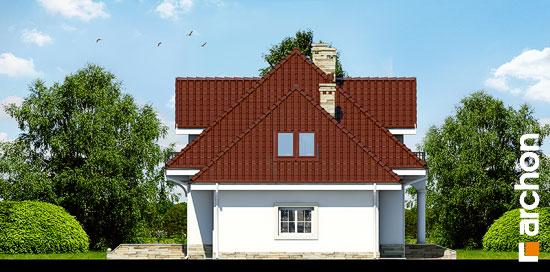 Elewacja boczna projekt dom w werbenach 3  266