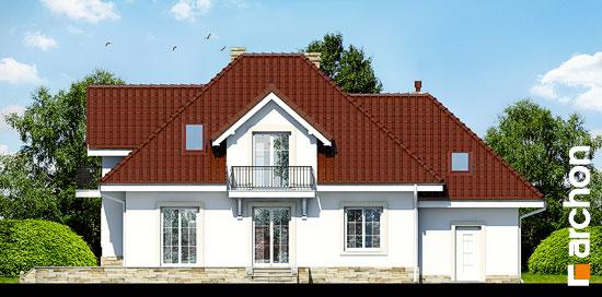 Elewacja ogrodowa projekt dom w werbenach 3  267