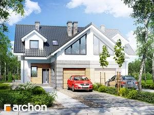 projekt Dom w klematisach 6 (B)