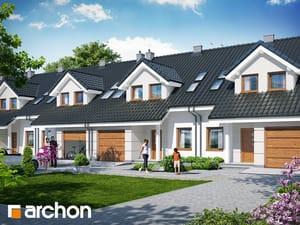 gotowy projekt Dom w klematisach 7 (S)