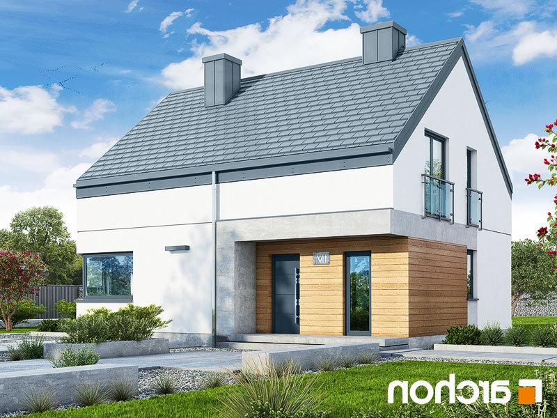 Lustrzane odbicie 1 projekt dom w malinowkach 6  289lo