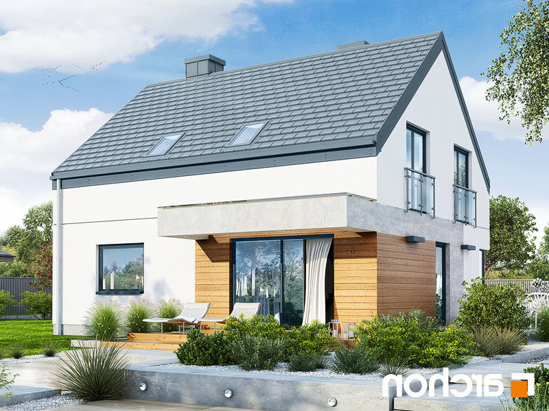 Lustrzane odbicie 2 projekt dom w malinowkach 6  290lo