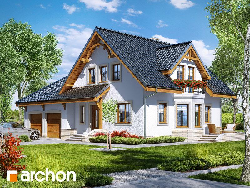gotowy projekt Dom w tamaryszkach 2 (G2) widok 1