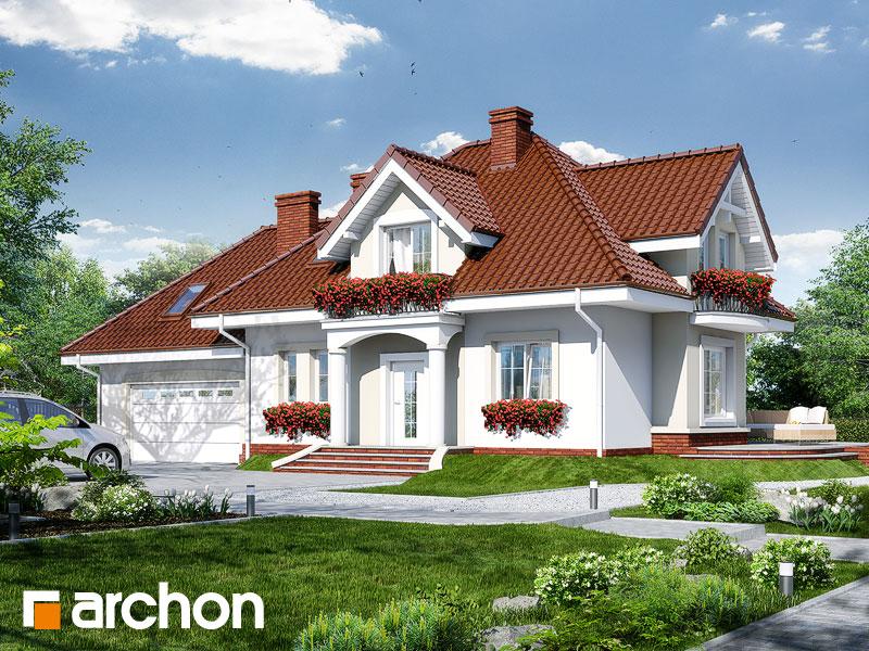 gotowy projekt Dom w werbenach (G2) widok 1