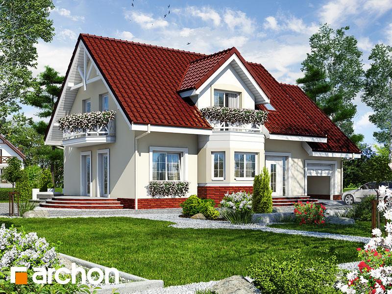 gotowy projekt Dom w celozji widok 1