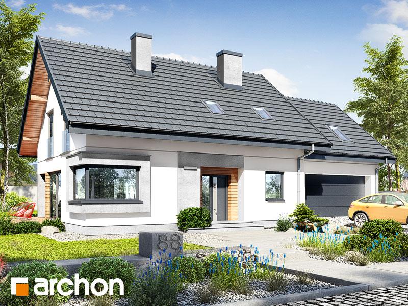 gotowy projekt Dom w szmaragdach (G2) widok 1