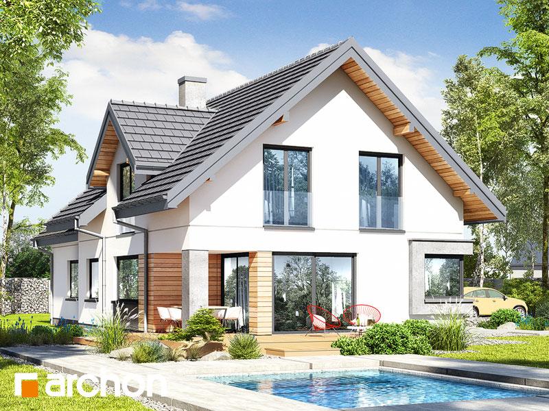 gotowy projekt Dom w szmaragdach (G2) widok 2