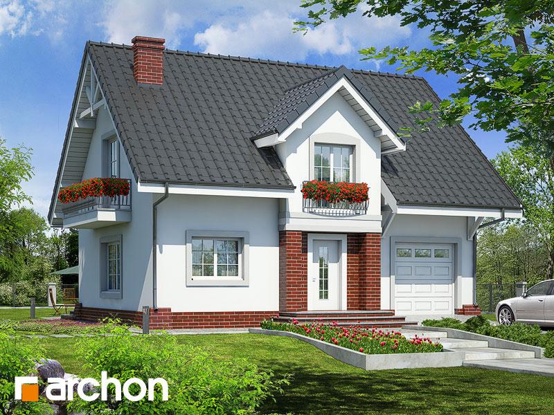 gotowy projekt Dom w lucernie (T) widok 1