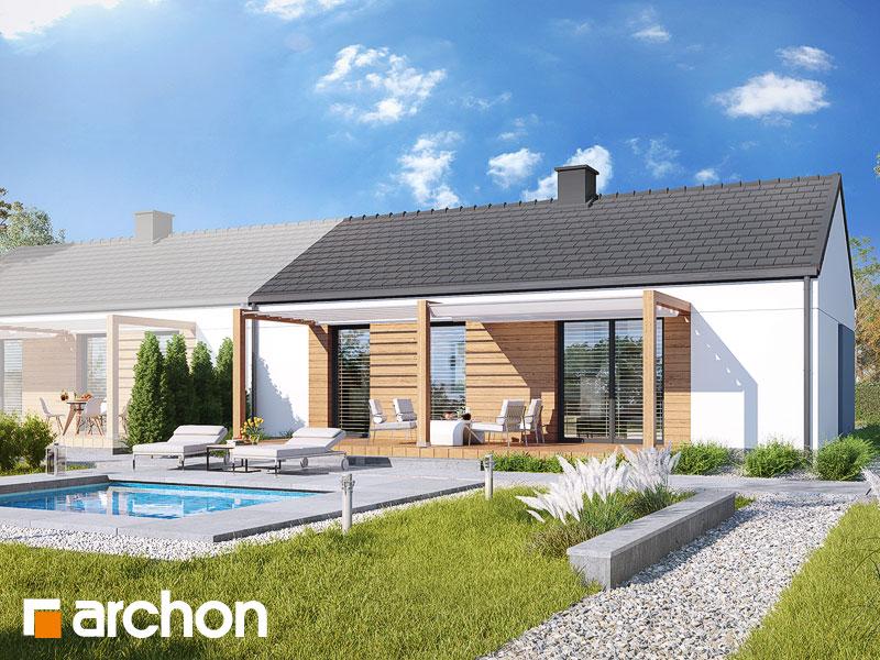gotowy projekt Dom w kruszczykach 3 (B) widok 1